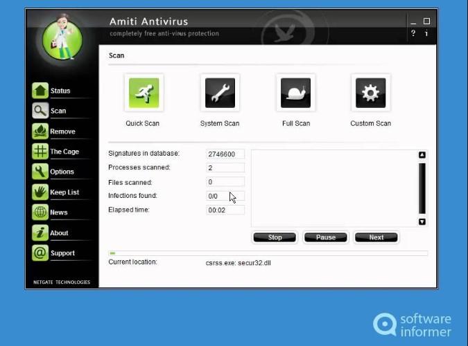NETGATE Amiti Antivirus 25.0.800 (2021) Crack + License KEY Free