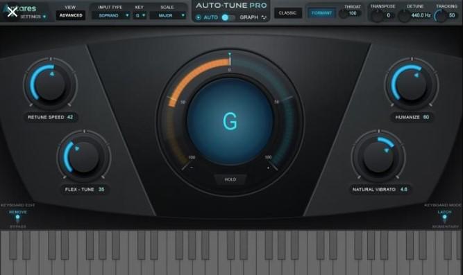 Antares Autotune 9.1.0 Crack + Keygen Free {Win + Mac}
