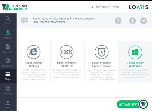Loaris Trojan Remover 3.1.13 Crack + Activation Key 2020